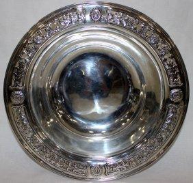 Reed & Barton Sterling Pierced Bowl