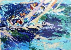 "Leroy Neiman ""high Seas Sailing"""