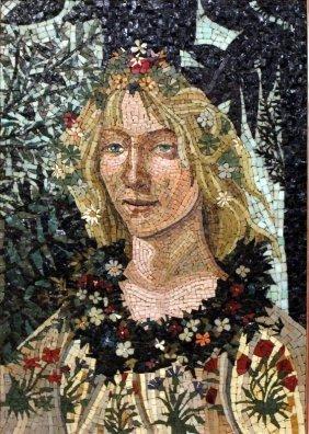 Beautiful Framed Mosaic Art