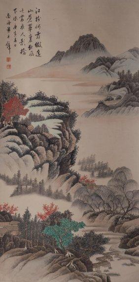 Landscape Painting Hangjunbi(1898-1991)