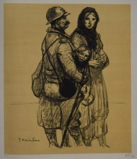 Theophile Steinlen; Lithograph