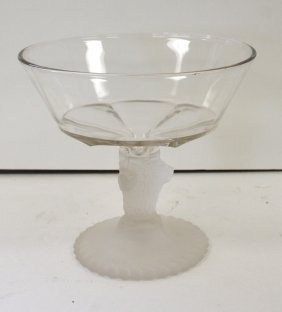 American Molded Glass Compote