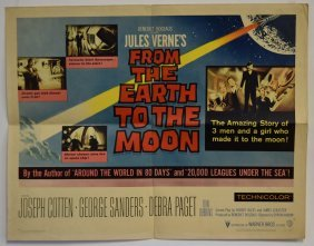 From The Earth To The Moon Half Sheet Movie Poster