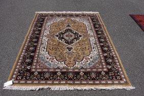 Silk Agra Carpet 5 X 7.4