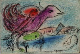 Marc Chagall; Color Print