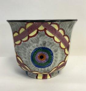 Smf Schramberg Art Deco Porcelain Planter