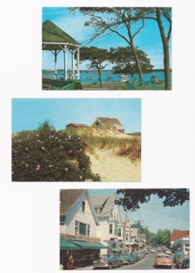 Vintage New England Postcard Collection, (200+)