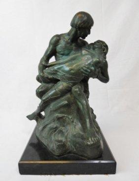 Bronze Sculpture, P.g. Bentham (1883-1936)