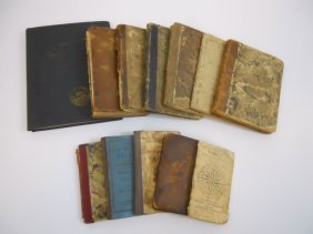 Thirteen 19th Century Books (1802-1887)