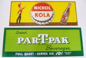 Vintage Advertising Signs, Nichol Kola, Par-t-pak