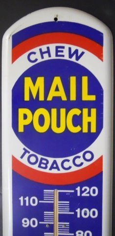 Vintage Advertising, Chew Mail Pouch Tobacco