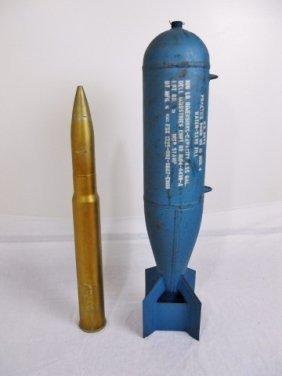 Usn Inert Practice Bomb And Dummy Shell