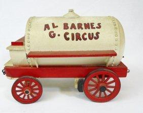 Vintage Al G. Barnes Model Circus Water Wagon