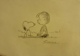 "1950 Charles M. Schulz""peanuts"" Signed"