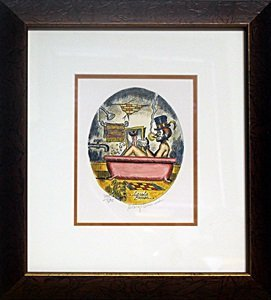 Limited Edition Lithograph - George Crionas