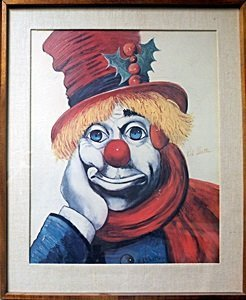 Holly Clown - Double Signed - Red Skelton