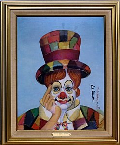 Crazy Quilt Clown - Limited Edition - Red Skelton