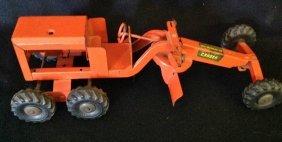 1950's Strutco Motor Grader Toy