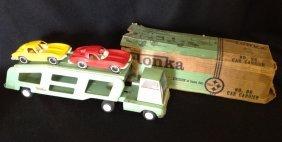 1962-69 Tonka Car Hauler Truck #96