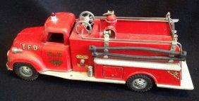 1950's Tonka Fire Dept. Pumper Fire Truck