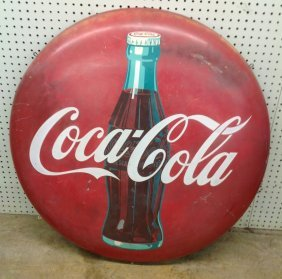 Vintage 1950's Coca-cola Button