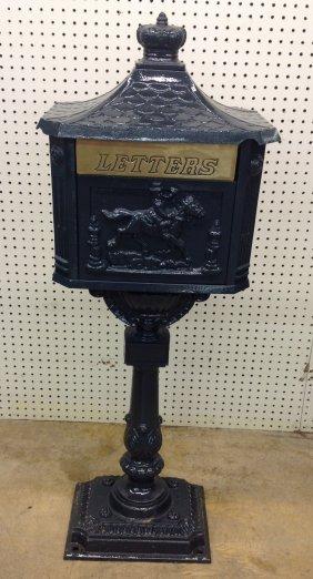 Restored Cast Iron Mail Box