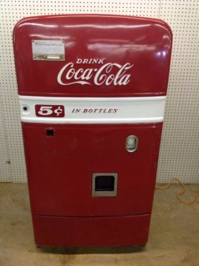 Early 50's Westinghouse Bv56 Coca-cola Machine