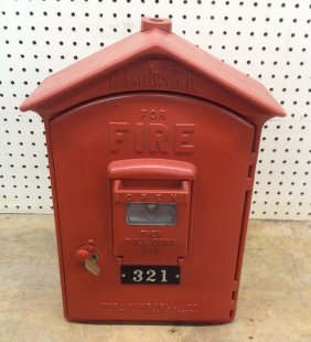 1960's/70's Gamewell Firebox #321