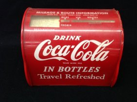 1956 Coca-cola Travel Guide