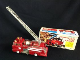 1960's/70's Snorkel Marvelous Fire Engine