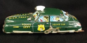 1949 Dick Tracy Police Dept. Squad Car No. 1