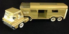 1960's Structo Turbine Horse Van
