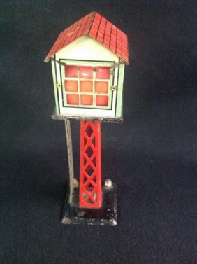 1950's Marx Train Station Radio Control Tower