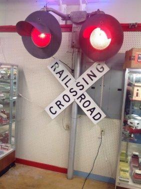 Rail Road Crossing Signal Light