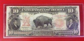 1901 $10 Bison Note