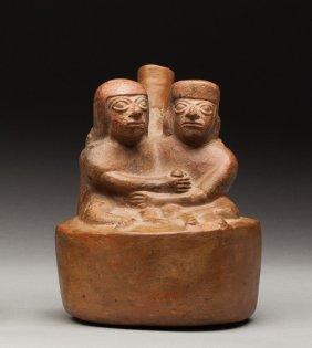 Moche Erotic Vase