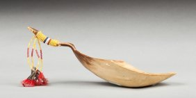 Native Indians Ceremonial Spoon
