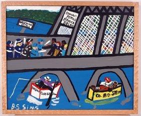 Bernice Sims. Edmond Pettus Bridge