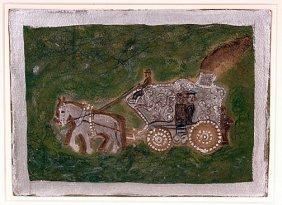 Albert Freeman. Circus Wagon