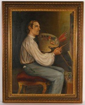 Teofilo Magliocchi. Self-Portrait.