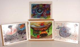 Ionel Talpazan Four Drawings.