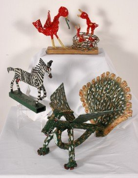 Willie Tarver. Three Sculptures.