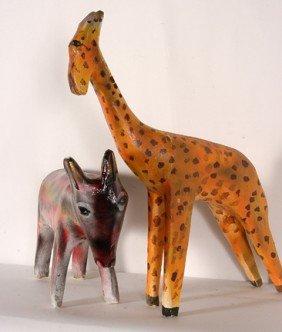 Hubert Walters. Giraffe & Donkey.