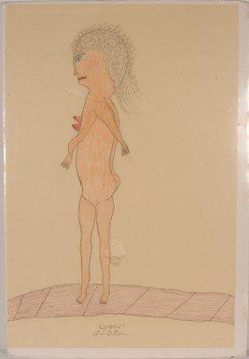 Creative G.C. DePrie. Single Nude.