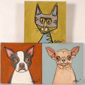 Galligan. Animal Portraits.