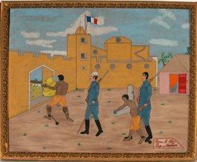 Gierr F. Obin. Haitian Prisoners.
