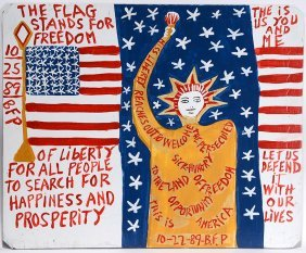 B.f. Perkins. The Flag Stands For Freedo