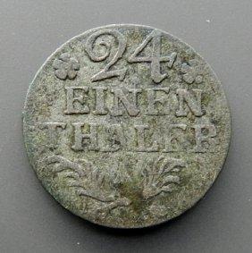 . 24 Einen Thaler Silver Coin From 1768