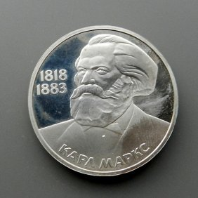 Coin 1 Ruble From Russia. Very Good Condition.