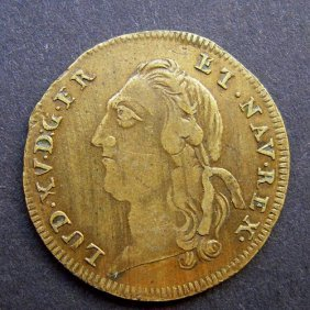 Medal 1923type Equal To The Anointing Of Louis Xv